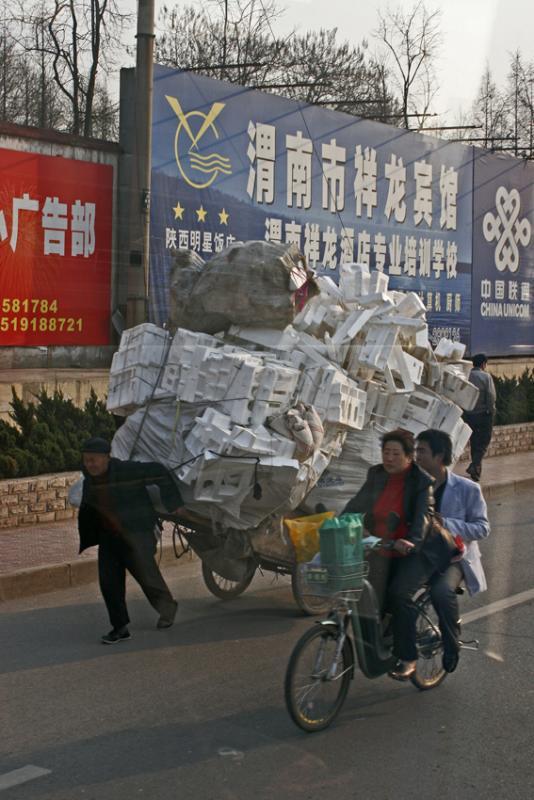 Jour 6 - Dans les rues de Xi An