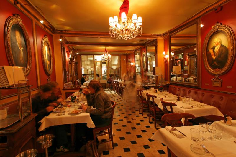 Visite du plus vieux café de Paris, le Procope - The oldest Paris café the Procope