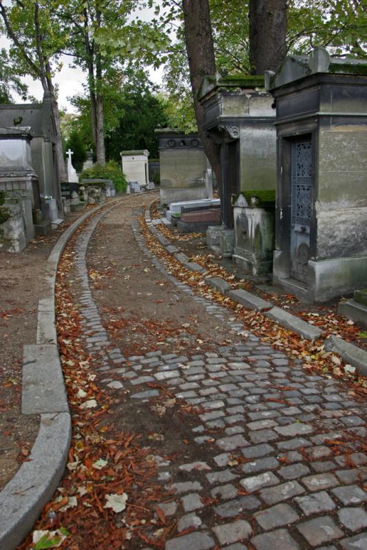 Visite du cimetière du Père Lachaise - The Père Lachaise graveyard