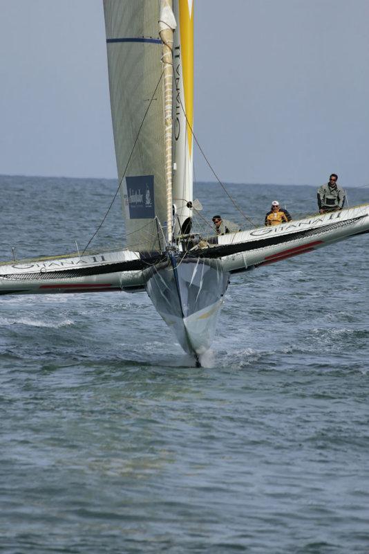 Gitana 11 le trimaran ORMA vainqueur de la Route du Rhum 2006
