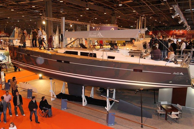 Le Hanse 540 du chantier Hanse Yachts