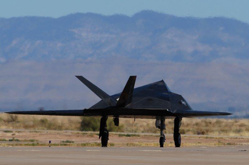 F-117 Taxiing