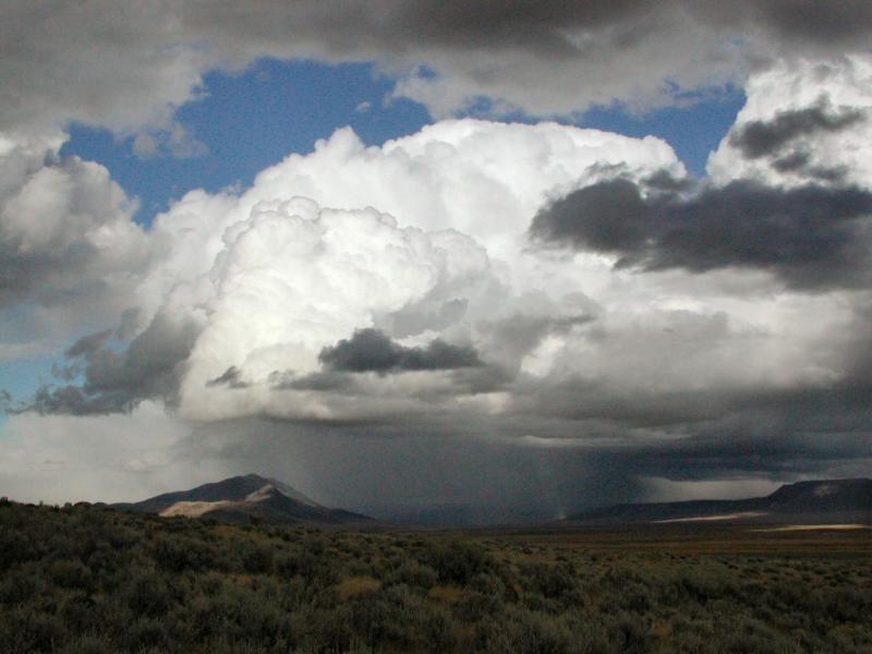 Thunder over the Alvord