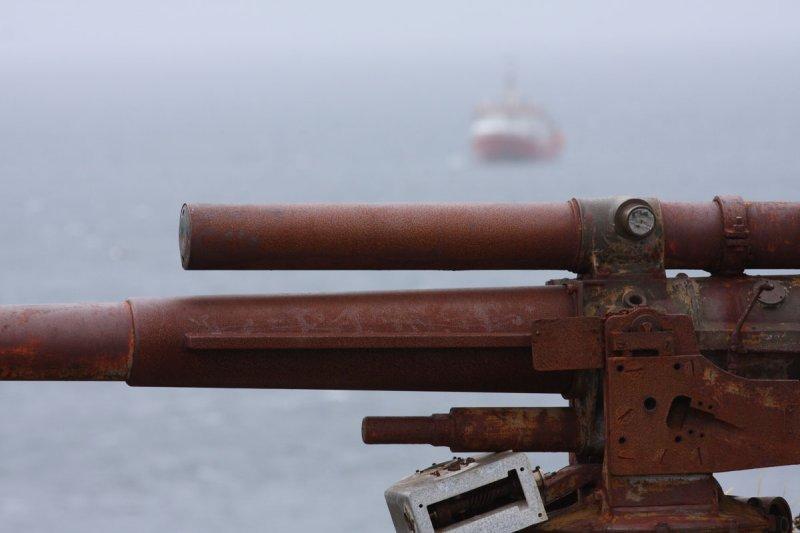 Olld Falklands defences