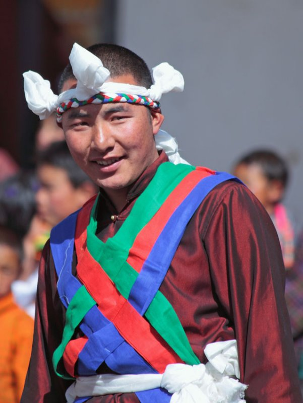 Dancer, Black-necked Crane Festival