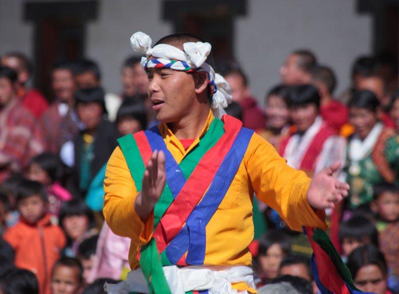 Dancer, Black-necked Crane Festival