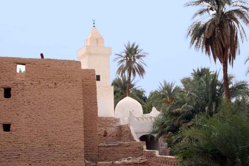 One of the many mosques
