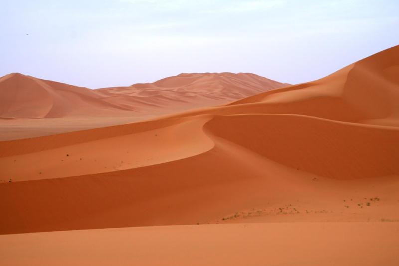 Amazing dune shapes