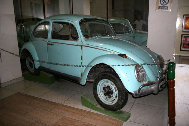 Gaddafis VW, used in the 1960s
