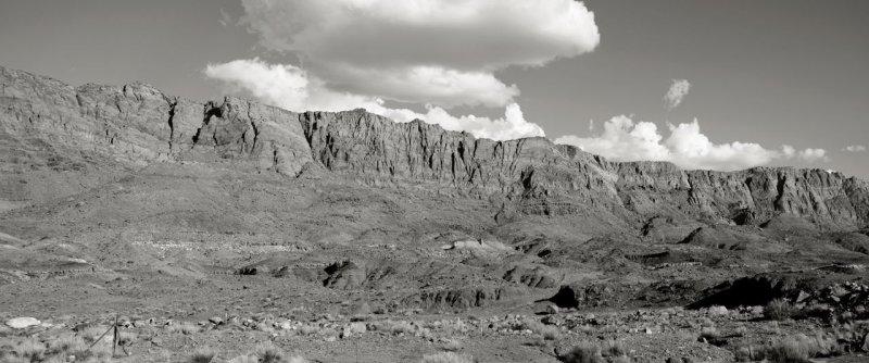 Arizona Roadside - Panorama