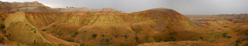 Badlands, South Dakota - Panorama