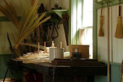 Inside Broom Makers Shop