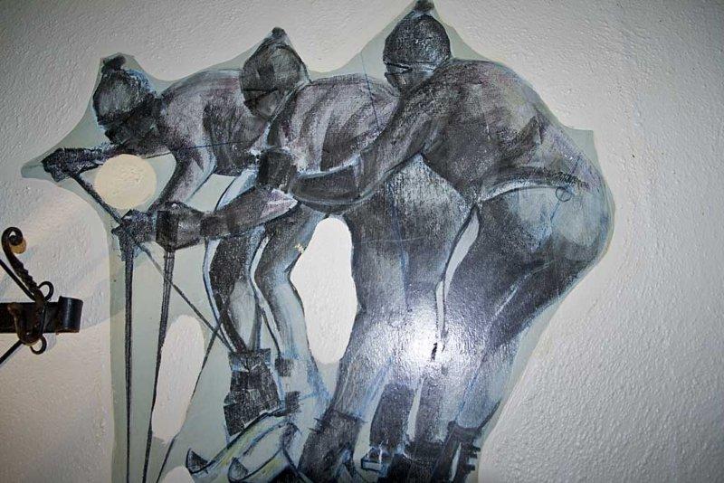 Struan House Hotel Artwork