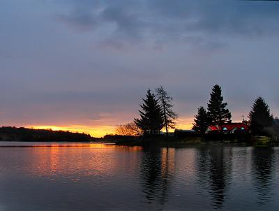 22nd April Sunrise over Avielochan