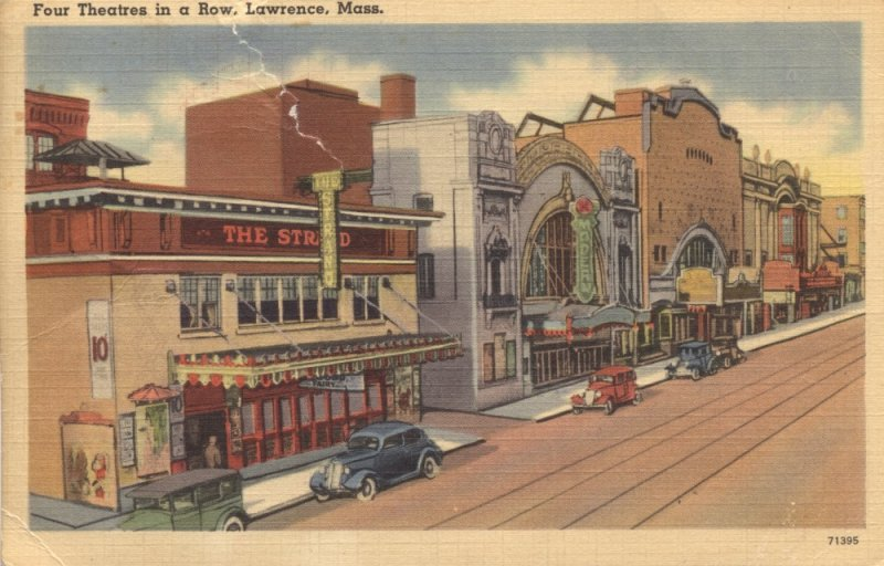 Theater Row looking North on Broadway (Rt 28)