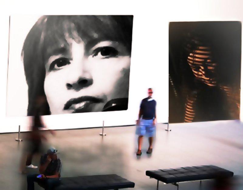 Galina Stepanova  In a Exhibition :)~