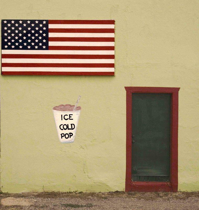 Ice cold pop