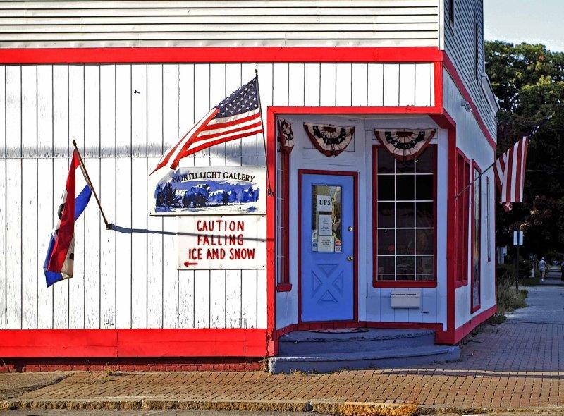 Gallery in Millinocket, Maine
