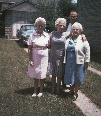 Esther , Elsie , Richard, Mary