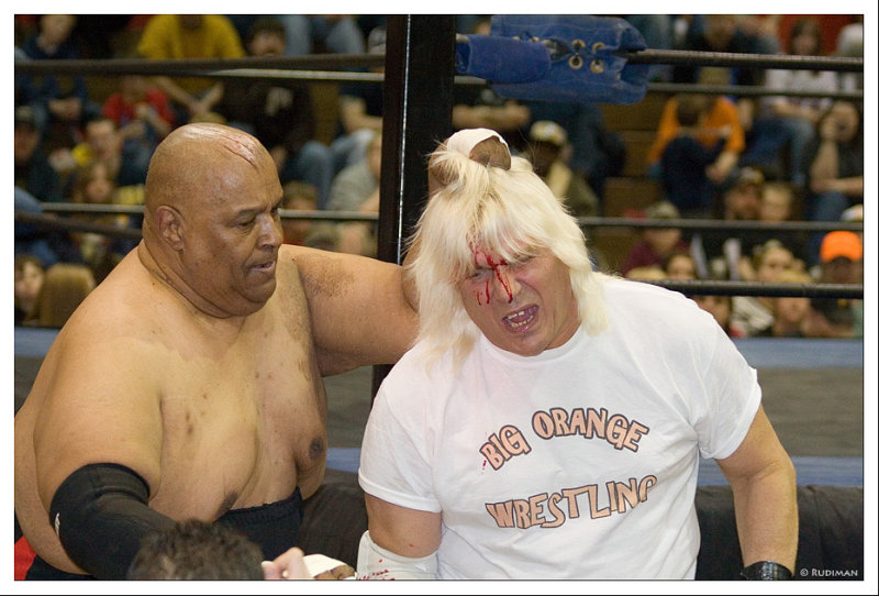 Abdullah The Butcher vs. Wildfire Tommy Rich