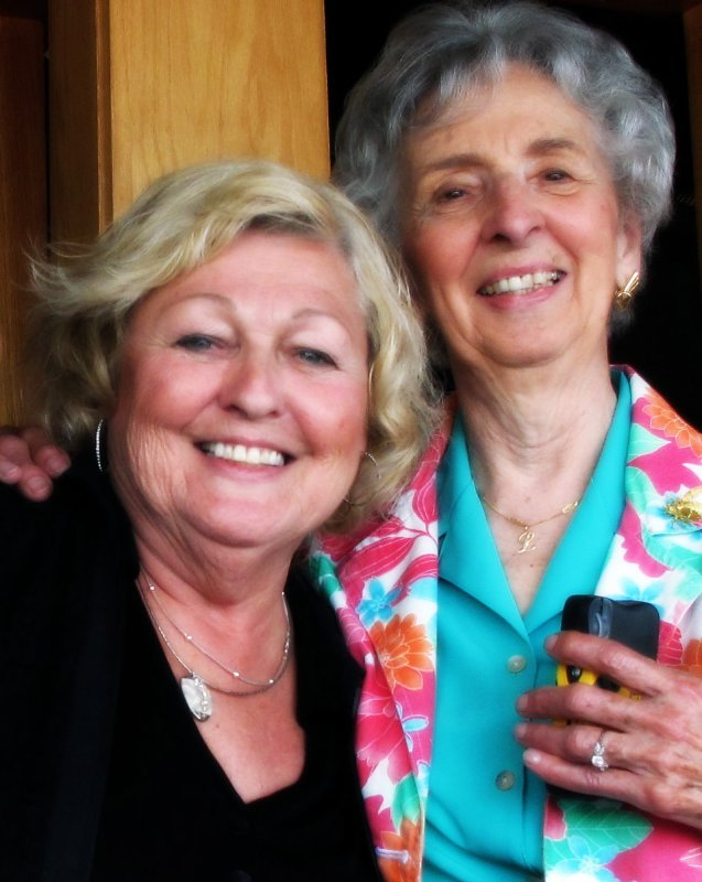 Judy and Aunt Lucille