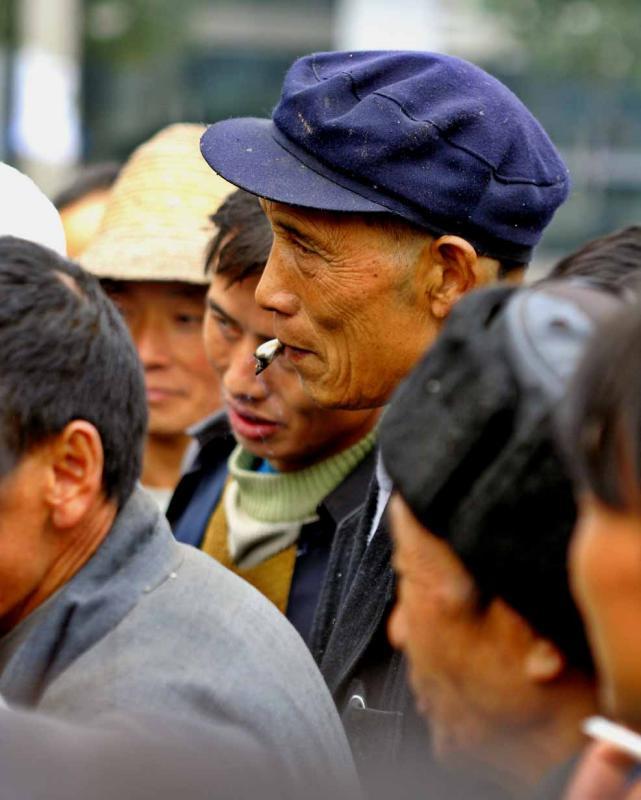 Day worker. Jishou City China. .jpg