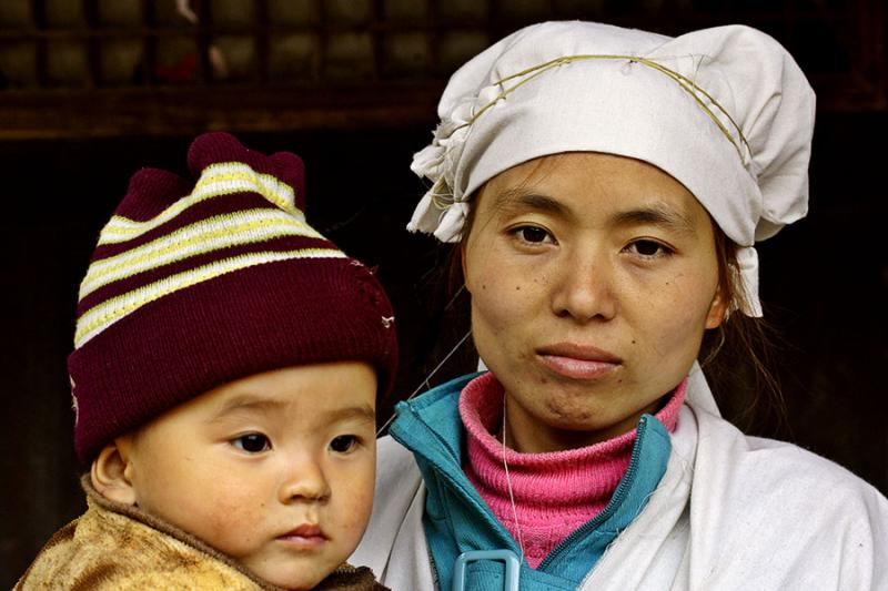 Hmong (Miao) mourning period. Panzhai, Guizhou Province, China