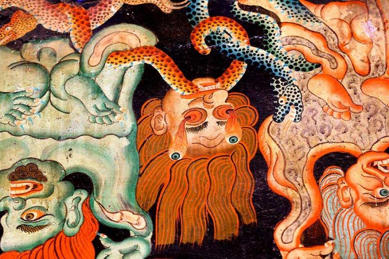 Nechung Monastary, Lhasa.