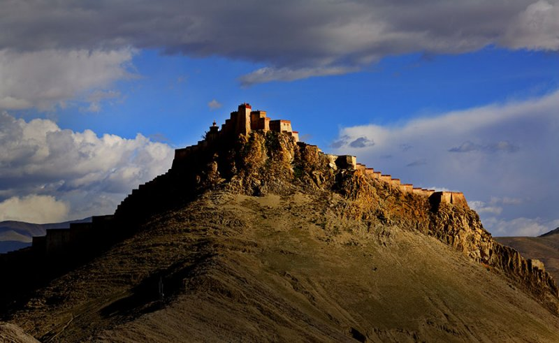 High mountain fortress.