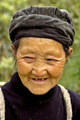 Tujia elder farmer, Ping Shan Po Village