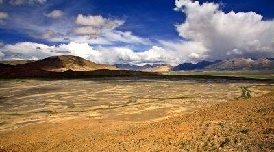 Between Lhasa and Nepal border.