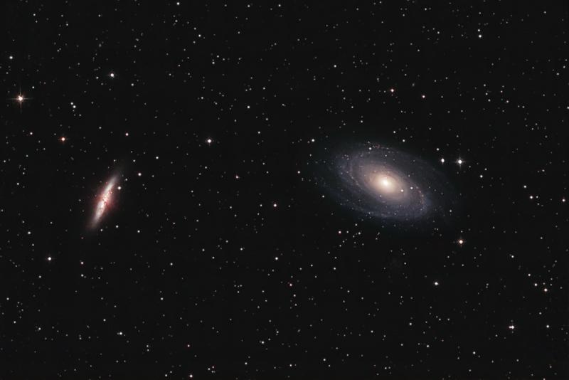 M81 and M82 in Ursa Major