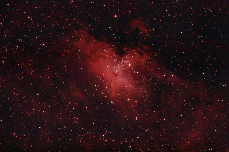 M16 ( Eagle Nebula) in Serpens