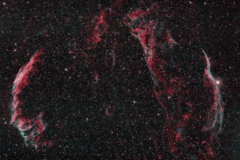 The Veil Nebula  in Cygnus