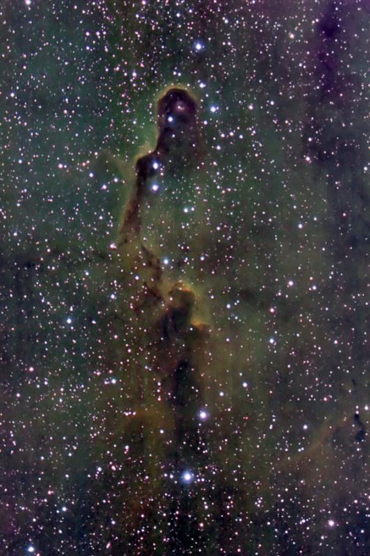 The Elephants Trunk Nebula  in Cepheus