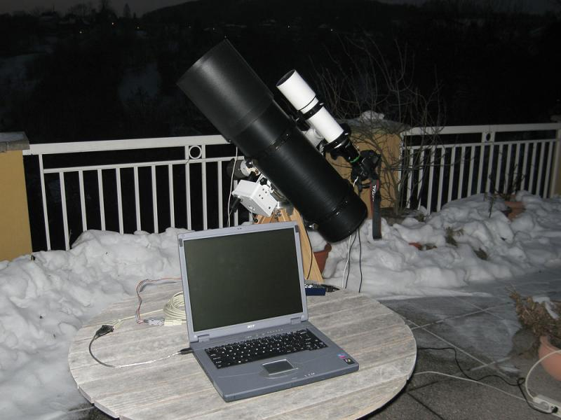 My Mobile Terrace Observatory ( MTO) I