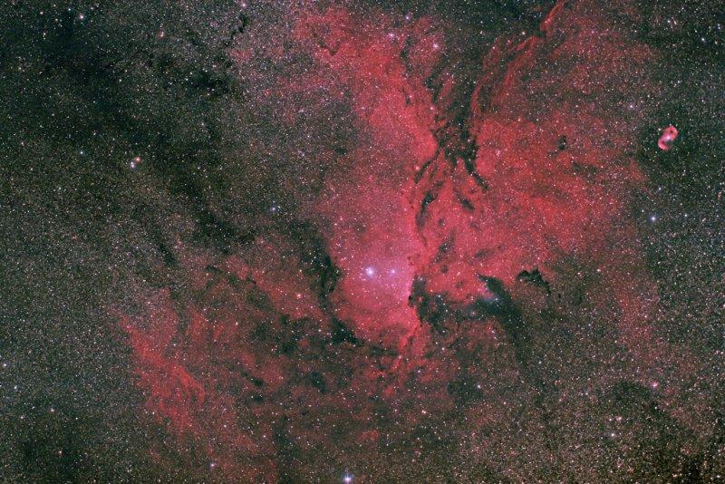NGC 6188 in Ara & NGC 6164/6165 in Norma