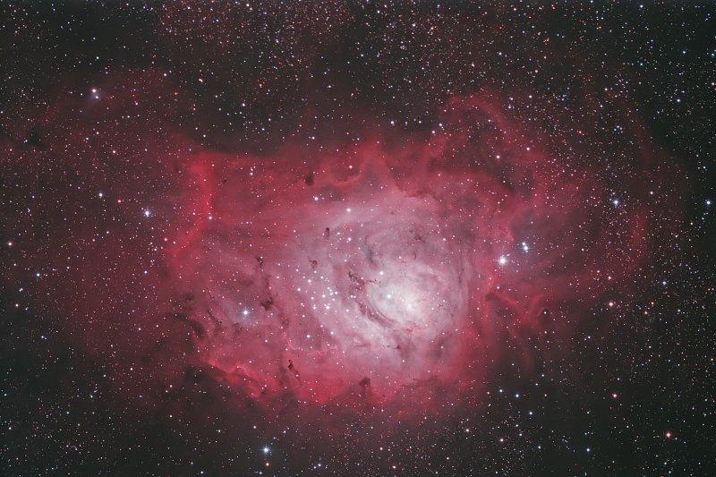 M8 - Lagoon Nebula in Sagittarius