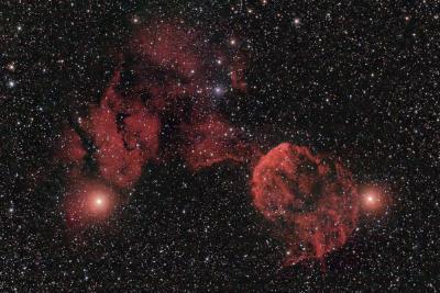 IC443/IC444 in Gemini