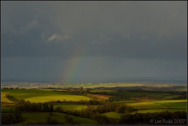 Rainbow Over Ruby...