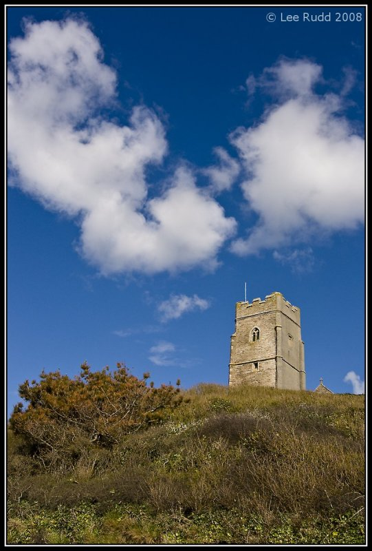 Church Tower on the Hill