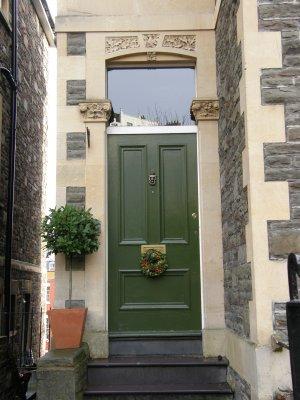 Green Castle Doorway