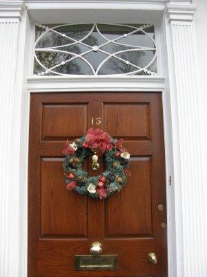 Brown Star Glass Doorway