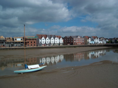 LowTide at Brightlingsea, 2005