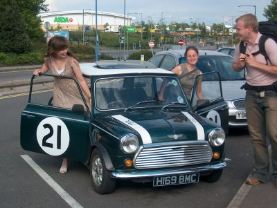 Mini in Colchester, 2005