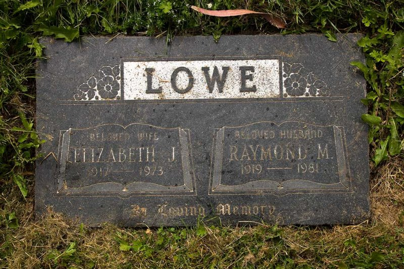Elizabeth and Raymond Lowe