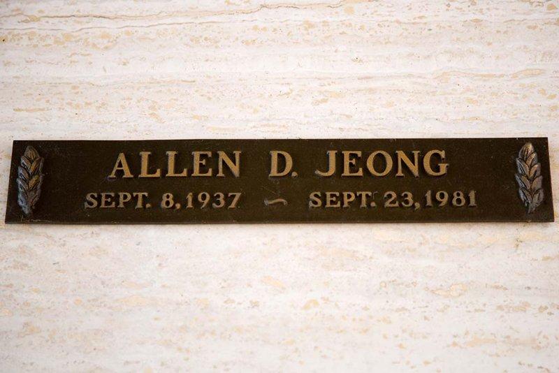 Allen D. Jeong