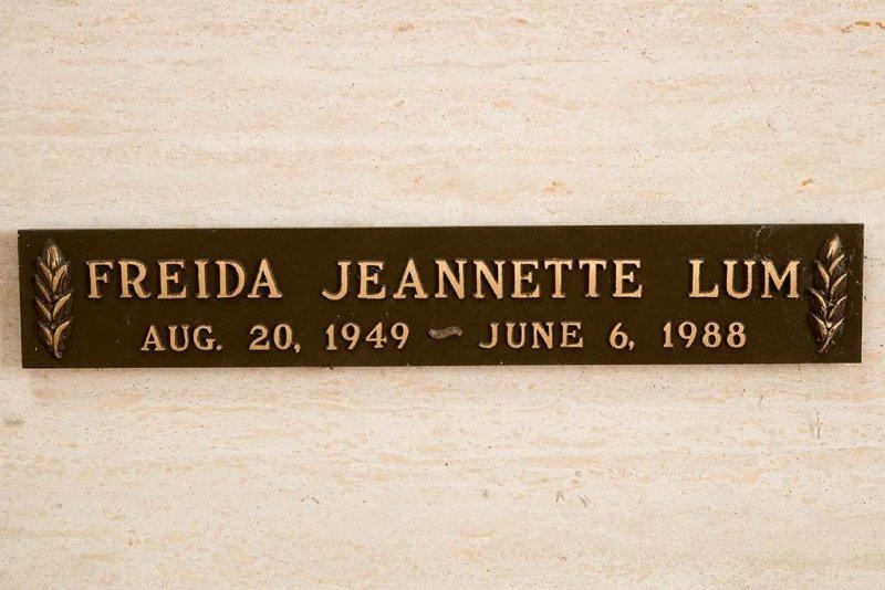 Freida Jeannette Lum