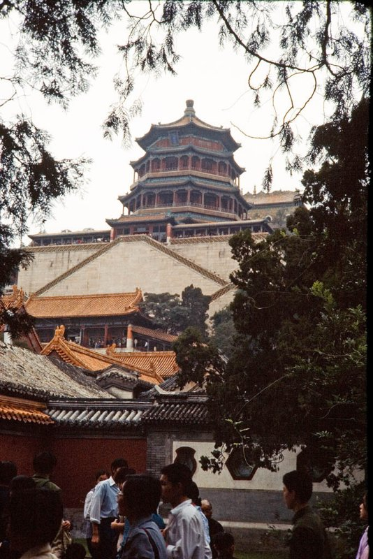 Tower of Buddhist Incense on Longevity Hill in the Summer Palace, Beijing