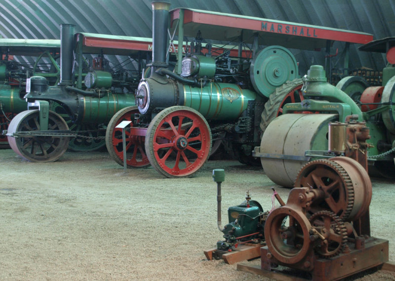 At Pearns Steam World